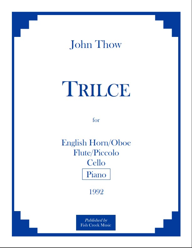 thow trilce cover