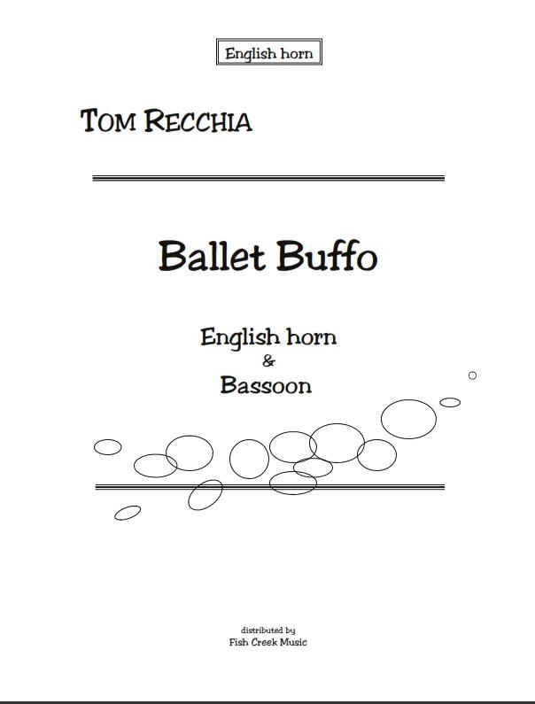 Recchia ballet buffo cover