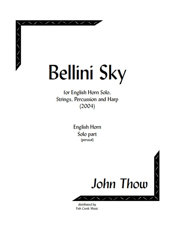 bellini sky eh cover