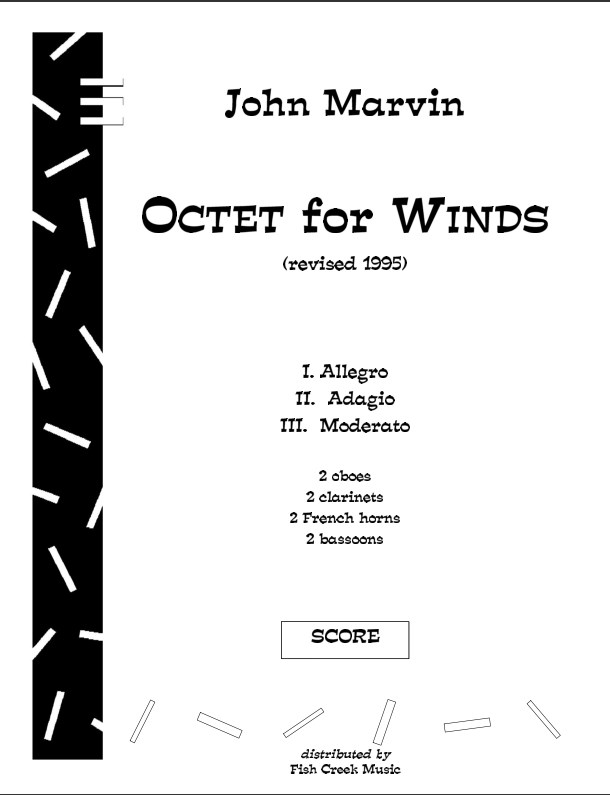 marvin octet score cover