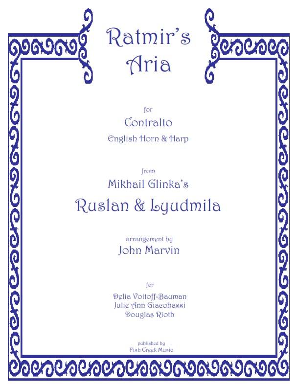 Ratmirs Aria Glinka