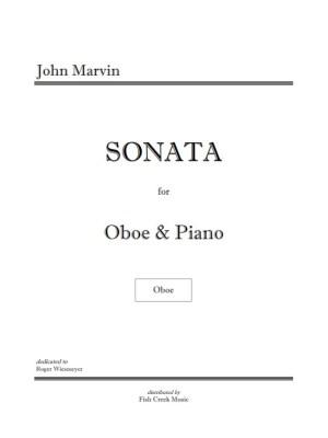 marvin oboe sonata cover